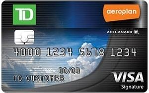 TD Bank Aeroplan Visa